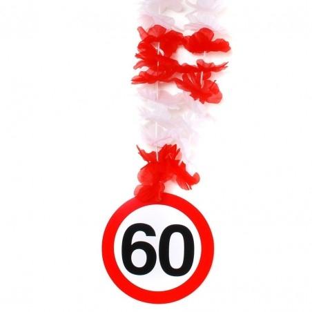 60-as számos születésnapi nyakfüzér