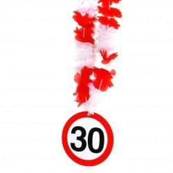 30-as számos születésnapi nyakfüzér