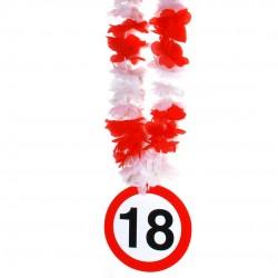 18-as számos születésnapi nyakfüzér
