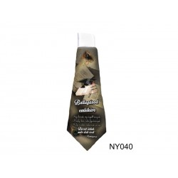 Ballagásod emlékére nyakkendő ballagásra - Hamingway idézettel