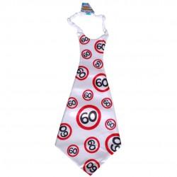 Óriás születésnapi sebességkorlátozó nyakkendő 60. születésnapra