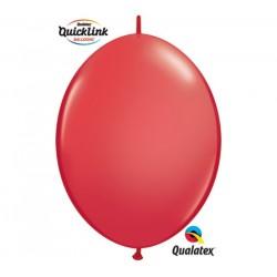 Piros Quick Link lufi - 15 cm átmérőjű