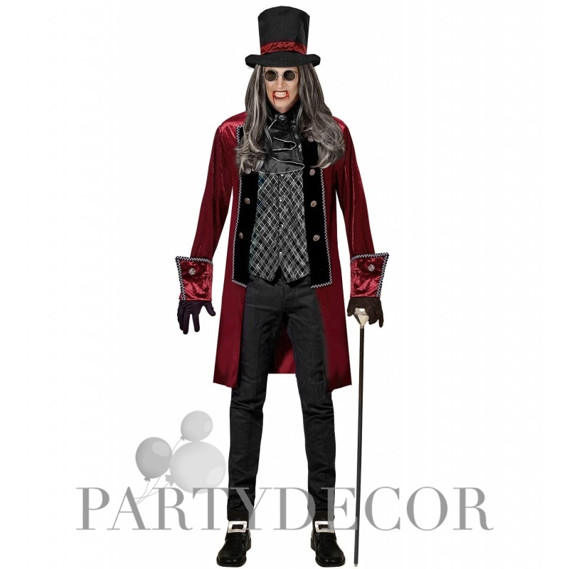 Viktoriánus vámpír exkluzív Halloween jelmez (L)