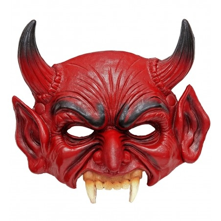 Horrorisztikus ördög maszk Halloweenre