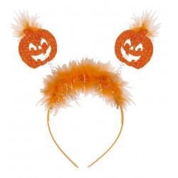 Tökfej fejpánt Halloweenre