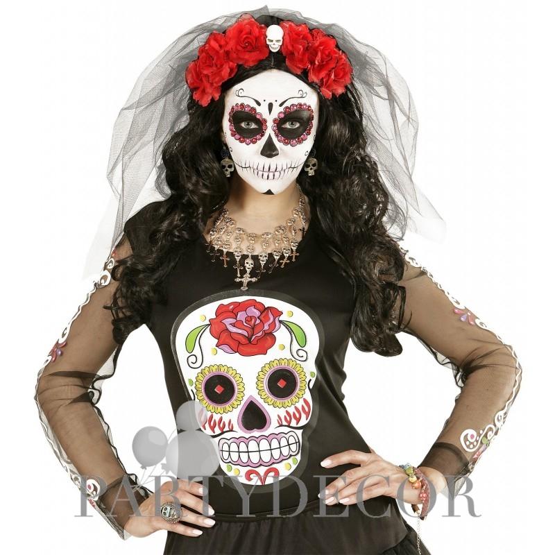 Halott menyasszony maszk - Halloween maszk