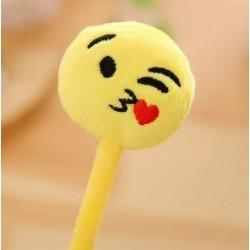 Emoji plüss toll szerelmes