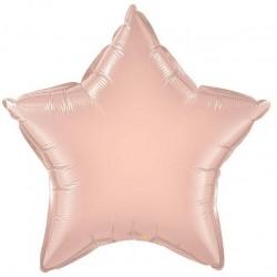 Világos rózsaszín héliumos fólia lufi