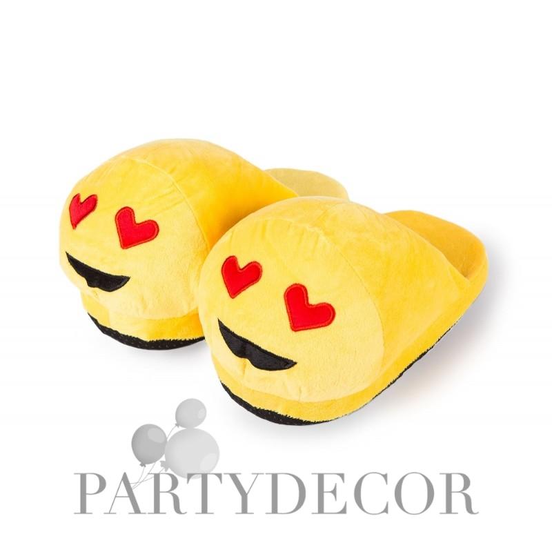 Emoji plüss papucs - szerelmes 0c6cfc0833