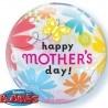 Anyák napi héliumos lufi pillangó mintával