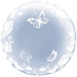 20 inch-es Joined Hearts All Around Deco Bubble Lufi