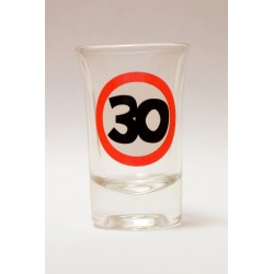 30-as Sebességkorlátozó Szülinapi Felespohár