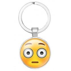 Emoji kulcstartó - Síró és nevető smile