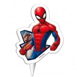 Pókember (Spiderman) Mesefigurás Tortagyertya