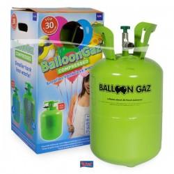 Eldobható héliumpalack 50 db latex léggömb felfújásához