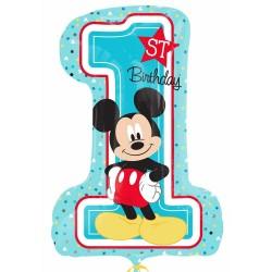 Első születésnapi lufi Minnie egeres