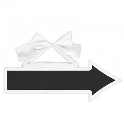 Feliratozható kréta tábla esküvőre 41 cm * 14 cm