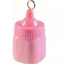 Rózsaszín cumisüveg léggömbsúly