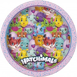 Hatchimals parti tányér