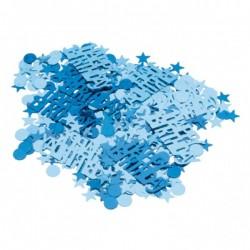 Kék születésnapi parti konfetti