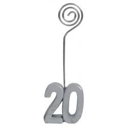 Születésnapi ültetőkártya tartó 20-as számos 2 db-os