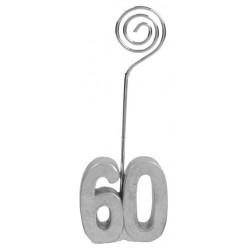 Születésnapi ültetőkártya tartó 30-as számos 2 db-os