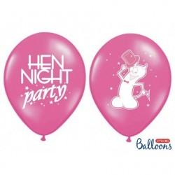 11 inch-es Hen Night Daisies - Lánybúcsúra Virágos Lufi (5 db/csomag)