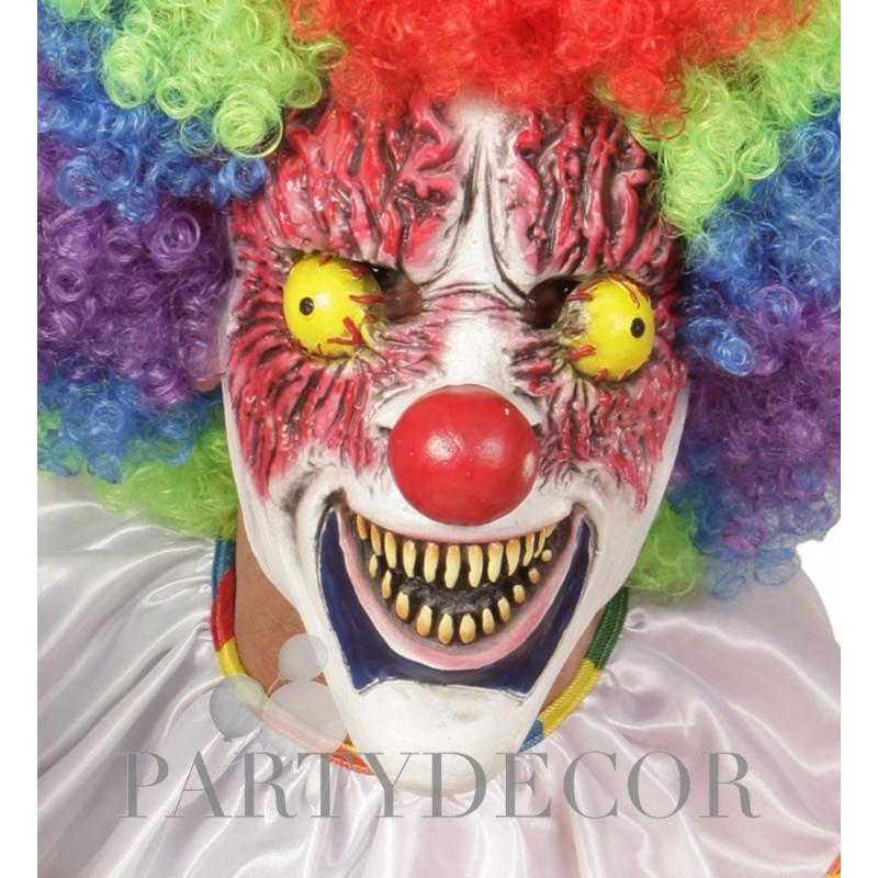 Horror rémisztő bohóc maszk