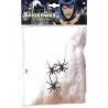 Dekorációs pókháló 3 db pókkal 50 g-os