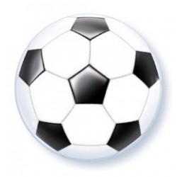 22 inch-es Foci Labda Mintás - Soccer Ball Bubble Héliumos Lufi
