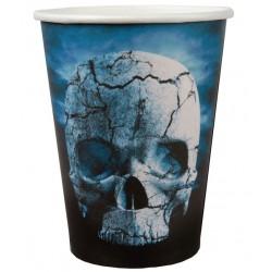 Koponyás halloween parti pohár