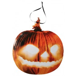 Tök karton függő dekoráció halloweenre