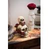 Csontvázas italtartó Halloween dekoráció 19,5 cm