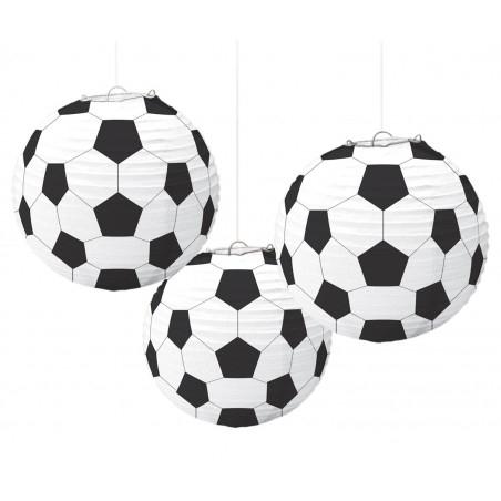... ez a focilabdás parti lampion. Esetleg a családodban vannak  focidrukkerek  Foci EB vagy VB idején dobd fel a szurkolói helyszínt  focilabdás lampion ... a718e0bf30