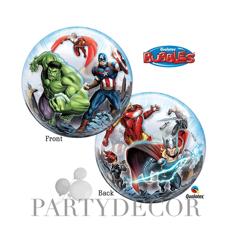 Bosszúállók- Marvel Avengers bubbles lufi 56 cm