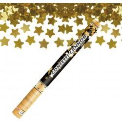 Arany Csillagokat Kilövő Konfetti Ágyú, 60 cm-es