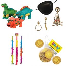 Parti kiegészítők és játékok