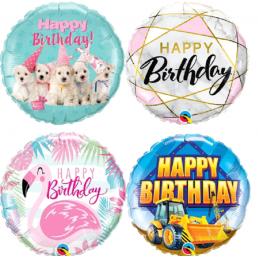 Héliumos lufi születésnapra