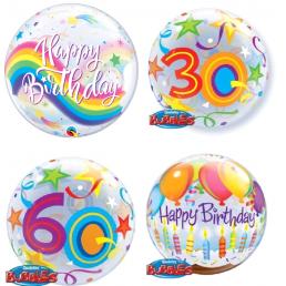 56 cm-es Születésnapi Különleges Bubbles Lufik