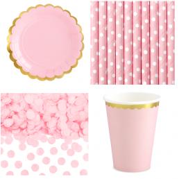 Rózsaszín Parti Dekoráció