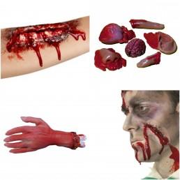 Testrészek, Véres Sebesülések