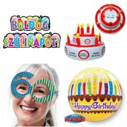 Születésnapi parti dekoráció