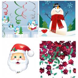 Karácsonyi dekoráció karácsonyi díszekkel