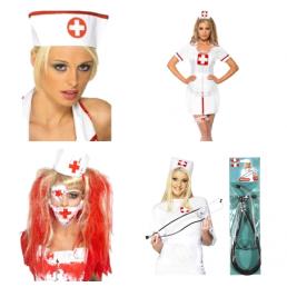 Nővérke és Orvos Jelmez kellékek
