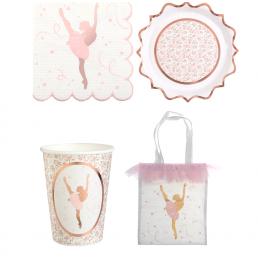 Balerina mintás születésnapi parit termékek