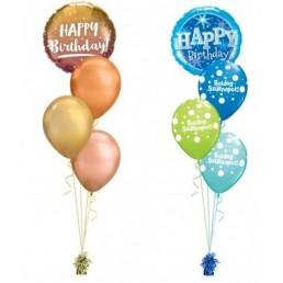 Születésnapi héliumos luficsokor