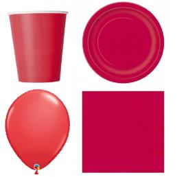 Piros dekoráció