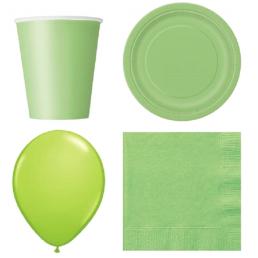 Lime zöld dekoráció
