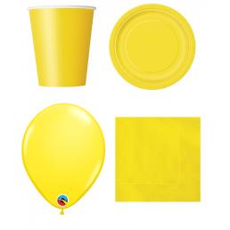 Sárga dekoráció