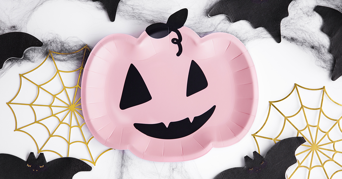 rózsaszín halloween kellékek